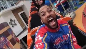 Watch: Globetrotter's history-making trick shot at Mall of America