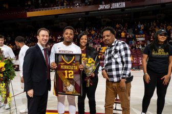 Gopher recruit's Senior Night not quite what he'd expected