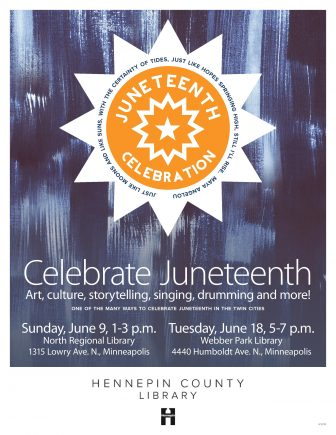 Hennepin County Library Juneteenth Celebrations @ North Regional Library
