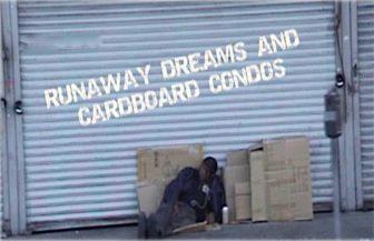 Runaway Dreams an Cardboard Condos a film by Ralph Crowder III @ Webber Park Library
