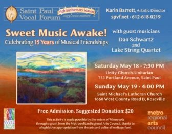 Sweet Music Awake! @ Unity Church-Unitarian