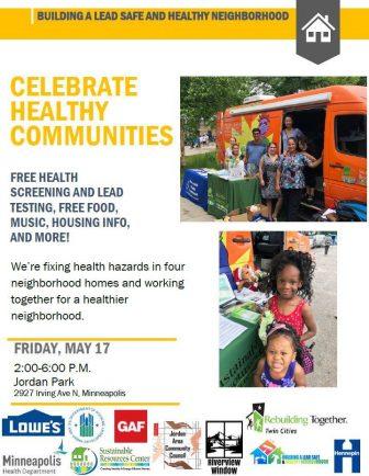Celebrate Healthy Communities @ Jordan Park