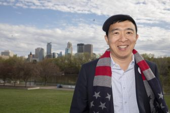 Prez candidate Yang on universal basic income and community policing