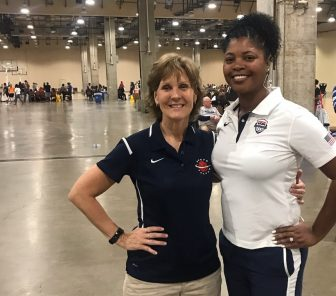Coach and her coach/mentor both chosen for 2019 U.S. National Team