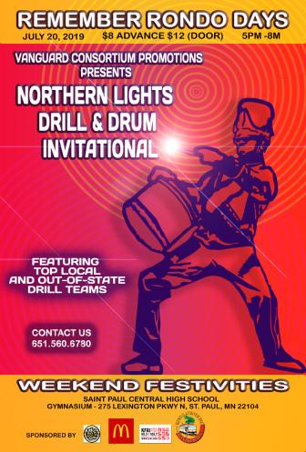 Northern Lights Drill & Drum Invitational @ Concordia University Gangelhoff Center