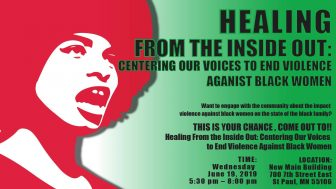 Healing From the Inside Out @ Metropolitan State University