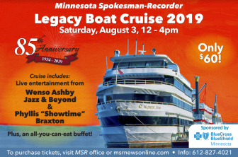 WIN: Legacy Boat Cruise 2019 tickets!