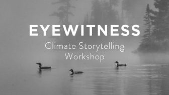 Beyond the Science: Climate Storytelling Workshop @ Golden Thyme Coffee & Cafe